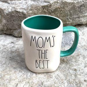 Rae Dunn Mom's the Best Mug with Teal I…